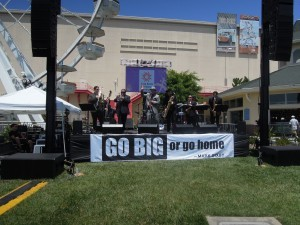 GO BIG or go home - Mark Bixby