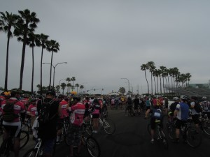 Start of the 31-mile Tour