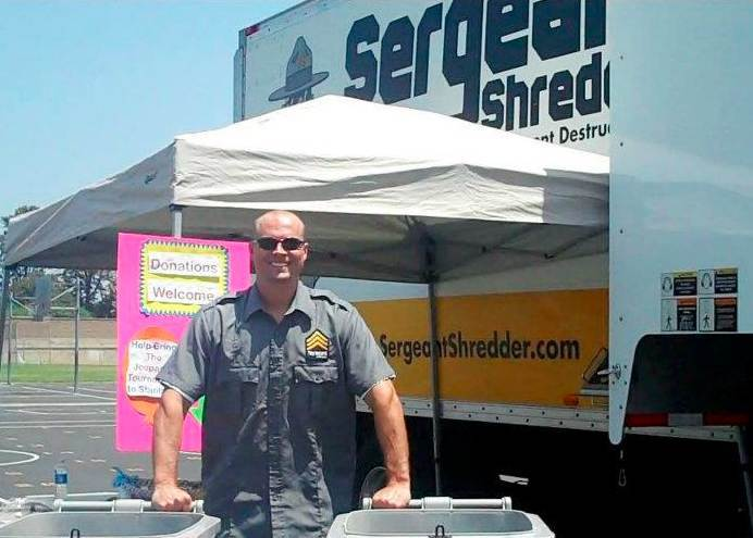 Sergeant Shredder Says So