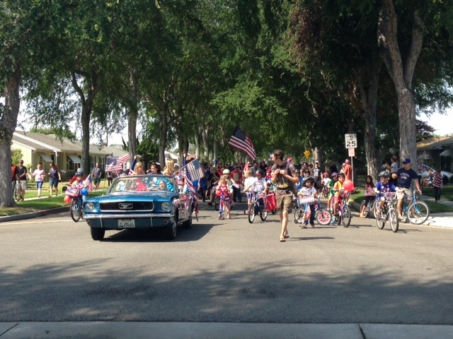 Fantastic Turn out for our first Great Los Altos Bike Parade