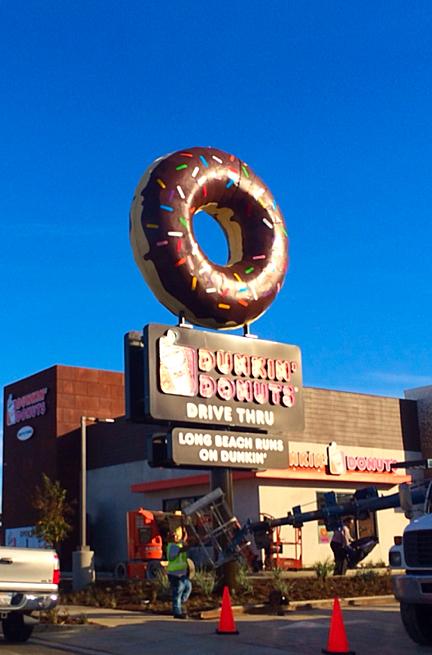 Dunkin Donuts opened in Long Beach last week