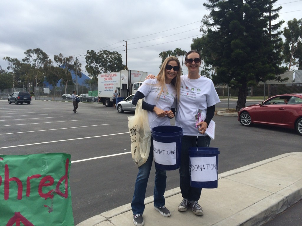 Donations at Gant Shred