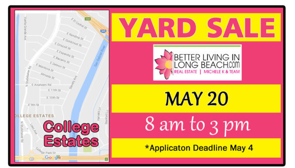 College Estates Yard Sale 2017